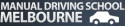 Manual Driving School Melbourne Logo