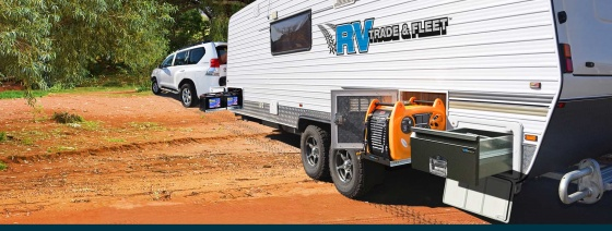 RV Trade and Fleet P/L - Caravan slides and boot drawers make for easy access.